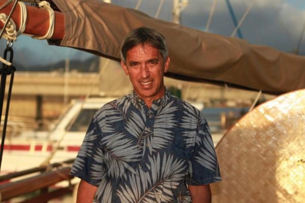 NAINOA THOMPSON, Pres, Polynesian Voyaging Society, Master Navigator, Hokule'a